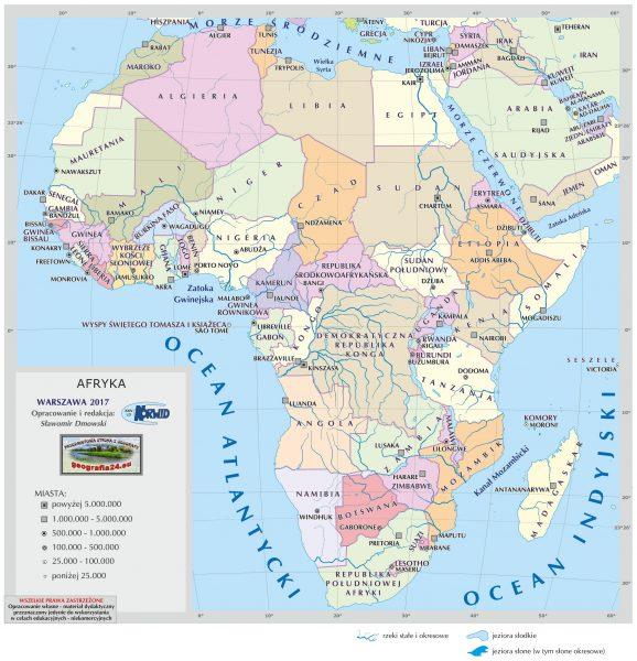 afryka polityczna